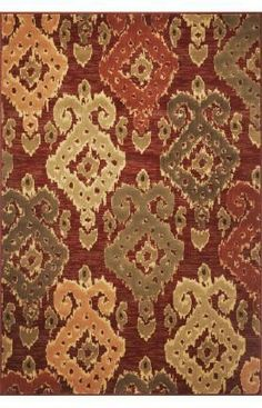 """KAS Geneva 9409 Allover Ikat 2'2"""" x 7'11"""" Runner Burgundy Area Rug by KAS. $90.00. Geneva 9409 Allover Ikat is an area rug by KAS. It is a 2'2"""" x 7'11"""" runner area rug with vendor described color of burgundy with contemporary style."""