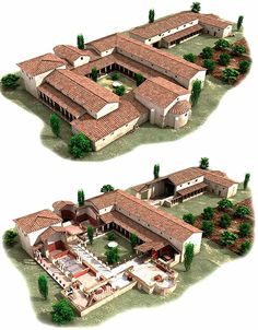 Roman Architecture, Minecraft Architecture, Historical Architecture, Ancient Architecture, Architecture Details, Minecraft House Designs, Minecraft Houses, Minecraft Building Blueprints, Rome Antique