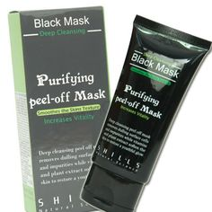 Shills Deep Cleansing Black Purifying Peel-off Mask by Dr. Shills *** Want to know more, click on the affiliate link Amazon.com. Black Peel Off Mask, Black Mask, Blackhead Mask, Blackhead Remover, Mascarilla Negra Peel Off, Purifying Mask, Acne Face Mask, How To Get Rid Of Acne, Facial Cleansing