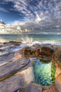 Emerald Pools, Noosa National Park, Queensland, Australia