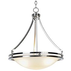 Monument 617600 Contemporary Brushed Nickel Pendant 1658 X 2312 In *** See this great product.