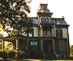 SECOND EMPIRE VICTORIAN MANSIONS | garth woodside mansion hannibal mo this splendid second empire house ...