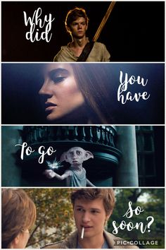 The maze runner, Divergent, Harry Potter, The fault in our stars.