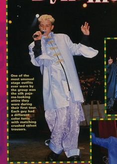 silk pajamas, | 63 Reasons Why Boybands Were Better In The'90s