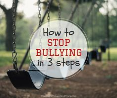 Stop bullying and prevent your child from being the bully with these 3 steps for going back to school with other kids.