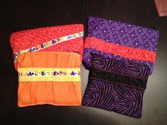 Zippered bags for my kiddo's teachers
