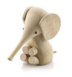 Image of LUCIE KAAS RUBBERWOOD ELEPHANT - Littlemuseandmarket.com.au