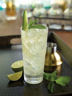 Try the MAGICAL MYSTERY MOJITO - a delicious blend of Hendrick's gin, elderflower syrup, muddled with lime juice, mind and Monin Cucumber, cheers! Hard Rock, Rock Café, Mojito, Elderflower Syrup Recipe, Mystery, New Menu, Summer Cocktails, Lime Juice, Mint