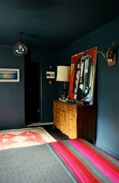 Paige & Dwight's Dramatic, Art-Filled Home