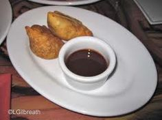 wolfgang puck's recipe for potato and pea samosa with tamarind date ...