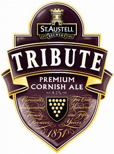 12th February 2013 ~ #DailyPint 43: Pint of Tribute. Back to a proper beer. 8/10 [Drank at The Britannia @Euston]