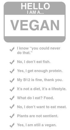 """Hello, I am a plant-based eating, animal & environmental activist"""