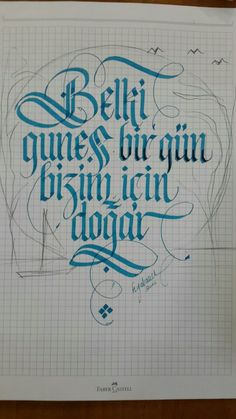 Kaligrafi örnekleri Calligraphy N, Typography, Lettering, Faber Castell, In My Feelings, Emoji, Bullet Journal, Notes, Lyrics