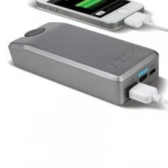 Eton Rechargeable Battery Pack - Now THIS is a great thing to keep in your 72-hour kit. If your power goes out, you can crank this little gadget, plug any device into it that can be connected by a USB cable and...voila! You can charge it without having electricity. Nice!