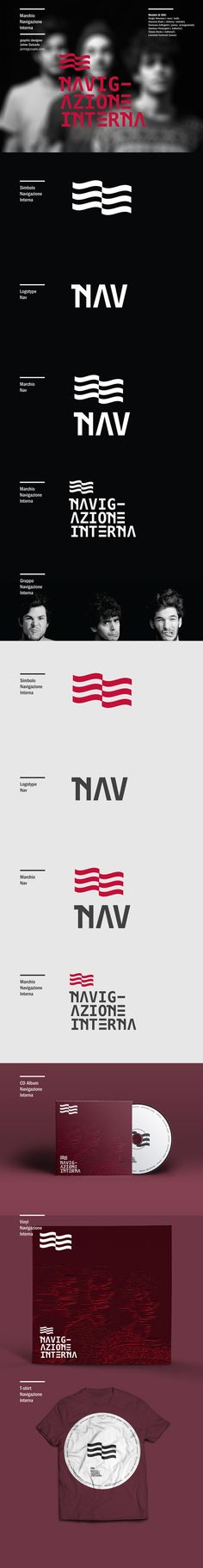 NAV / Logo Music on Behance