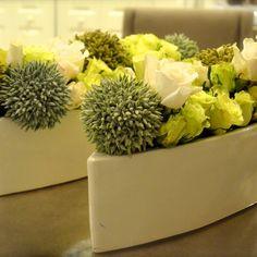 #flowercouture #floraldesign #flowercreation #greenroses #hybridroses #whiteandgreenroses
