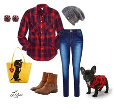 """""""Me & my doggy"""" by coolmommy44 ❤ liked on Polyvore featuring Marc Tetro, Aéropostale, City Chic, American Eagle Outfitters, Spacecraft, White House Black Market and plus size clothing"""