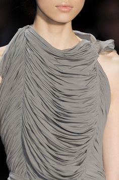 Love the ruching that Vera Wang has