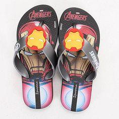 634fa45f1949 Chinelo Infantil Ipanema Avengers Infinity - 23 ao 36 - Preto