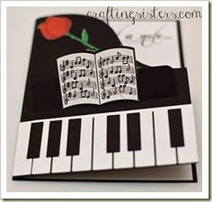 Piano Card Flat