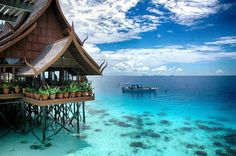 Mabul Island, Malaysia  Mabul is a small island off the south-eastern coast of Sabah in Malaysia. The island has been a fishing village since 1970s. Then in 1990s, it first became popular to divers due to its proximity to Sipadan island,