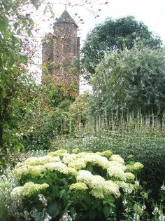 Unfortunately I was there in the early Spring well before the gardens took shape.  Still, the bones were beautiful. The White Garden, Sissinghurst