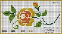 Ponto Hand Embroidery Videos, Hand Embroidery Patterns, Beading Patterns, Cross Stitch Embroidery, Quilt Patterns, Baby Cross Stitch Patterns, Cross Stitch Designs, Tapestry Crochet, Cross Stitch Flowers