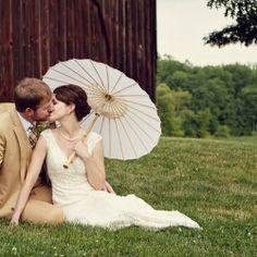 wedding umbrellas!
