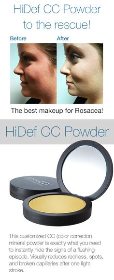 Amazing Before And After Results Of Our HiDef CC Powder!