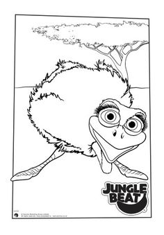 30 Best Jungle Beat Colouring Pages