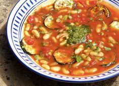 Tomato and Roasted Zucchini Summer Soup