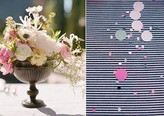 Navy + Pink