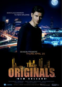 Yay! 2 of my favorite thing...Klaus and New Orleans! :)