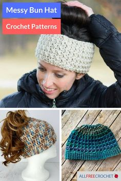 Messy Bun Hats! We can't get enough of them, so we put together this awesome roundup for you :)
