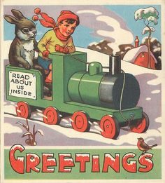 vintage Tuck card