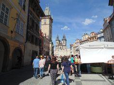 Casa temporária do incrível Kafka, Praga não deve absolutamente nada para as grandes capitais do mundo! Quero voltar! #TBT #Prague #2014