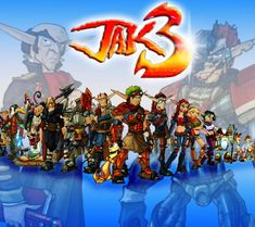 beautiful pictures of jak 3 Goat Games, Ff Game, Jak & Daxter, Tomb Raider Game, Cartoon Video Games, Epic Games, Games Ps2, Nerd Art, Ghost Busters