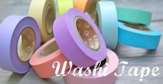 What is Washi Tape?  Inquiring minds want to know.  This site gives you the information.  What is the difference between the real Washi, and the DIY washi?  Find out here.  There is also pictures of Washi tape for sale.  I am not affiliated with this www in any way.