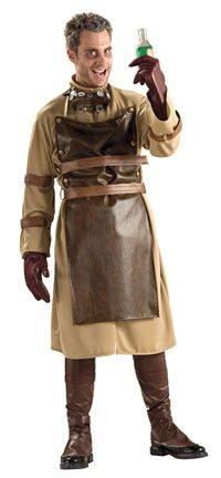 0129e0fb7da Riley- change leather apron, and give jacket SteamPunk Scientist Costume  $42.82 Mad Scientist Halloween