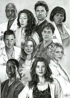Grey's Anatomy Cast Members | Grey's Anatomy Cast | Flickr - Photo Sharing!
