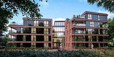 In nieuwbouwproject Regent's Park - Amersfoort woont u luxe in een groenrijke setting in luxe appartementen en penthouses met het laatste complex; Roosevelt