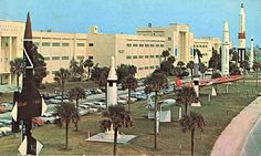 patrick AFB missiles at Tech Lab in 1961.