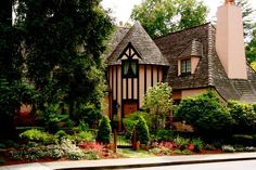 Tudor East Sacramento, CA Change of Seasons • The Chateau