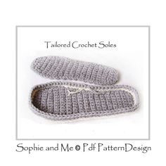 Any Size CROCHET SOLES / Sole treatment  by PdfPatternDesign