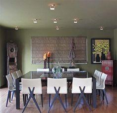 In The Spotlight Today: Kurt Langenhahn Designs. Dining Room via Design Shuffle