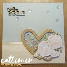 Cattimir - The eternity projects: wedding cards Glitter Cardstock, Glitter Glue, Teal Flowers, Different Fonts, Golden Heart, New Heart, Heart Frame, Organza Ribbon, Shaker Cards