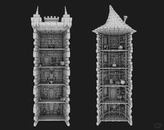 Gran Tower: Wild Knights with Crazy Witches producer & development by Gramgames 3d modelling by Can Akgül  download by App Store https://itunes.apple.com/ca/app/gran-tower/id890404411