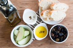Invite your friends over to celebrate Chanukah and the miracle of oil with a different spin at an olive oil tasting party. Favourite Festival, Jewish Recipes, Hanukkah, Olive Oil, Invite, Herbs, Yummy Food, Eat, Friends