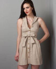 Another safari style dress <3