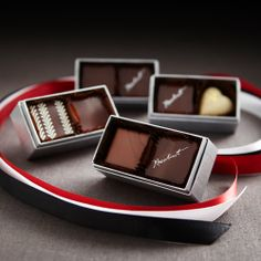 Recchiuti Confections Platinum Box (2pc) - Fine Boxed Chocolates, Chocolate Gifts from San Francisco